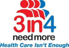 3in4 needmore health care not enought long term care insurance